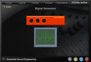 Signal Generator and Scope