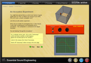 An Acoustics Experiment